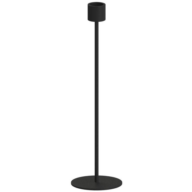 Ljusstake 29 cm, Svart