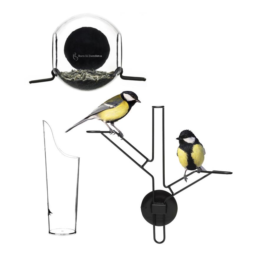Fågelmatare Set 3-Pack