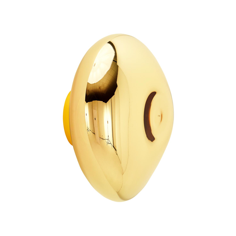 Melt Surface Vägglampa, Guld