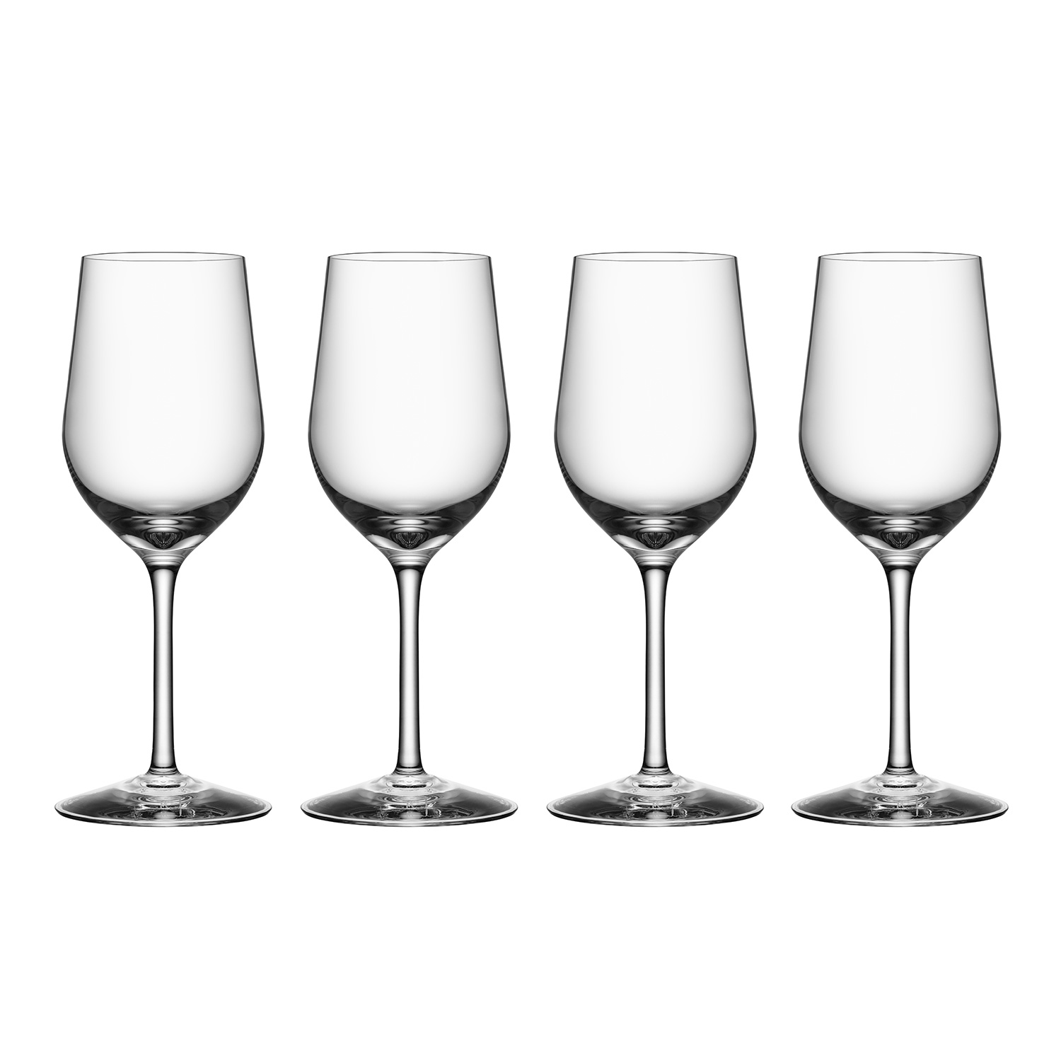 Morberg Collection White Wine Glass 34 Cl 4 Pcs Orrefors Royaldesign