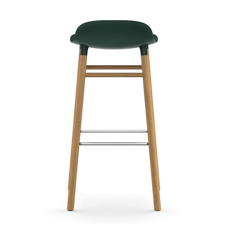 Form Barstol EkValnötSvartlack normann copenhagen Köp