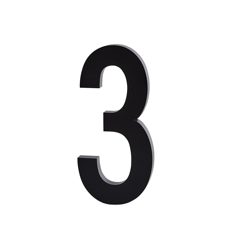 Design Letters, Nummer I Aluminium 50mm, 3