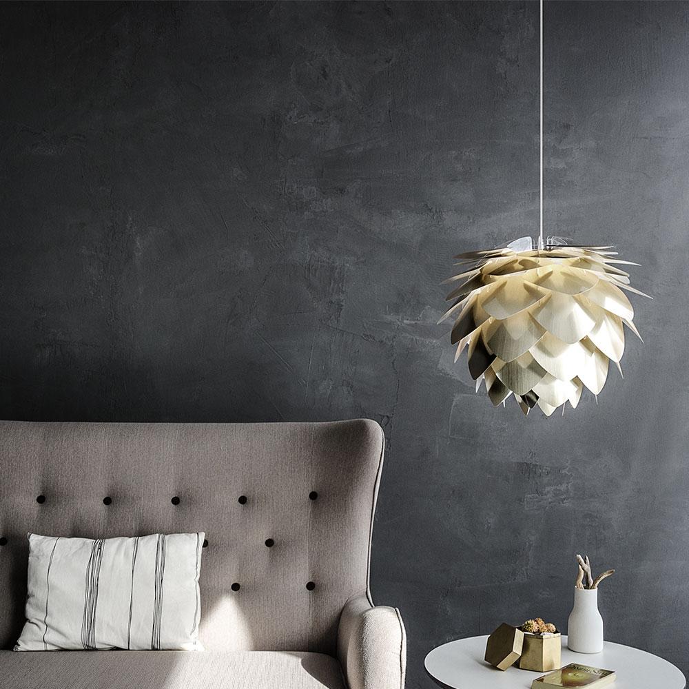 UMAGE Silvia Medium Lampeskjerm Hvit | Designbelysning.no