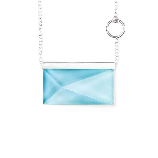 Palette Rektangulär Liggande, Blå