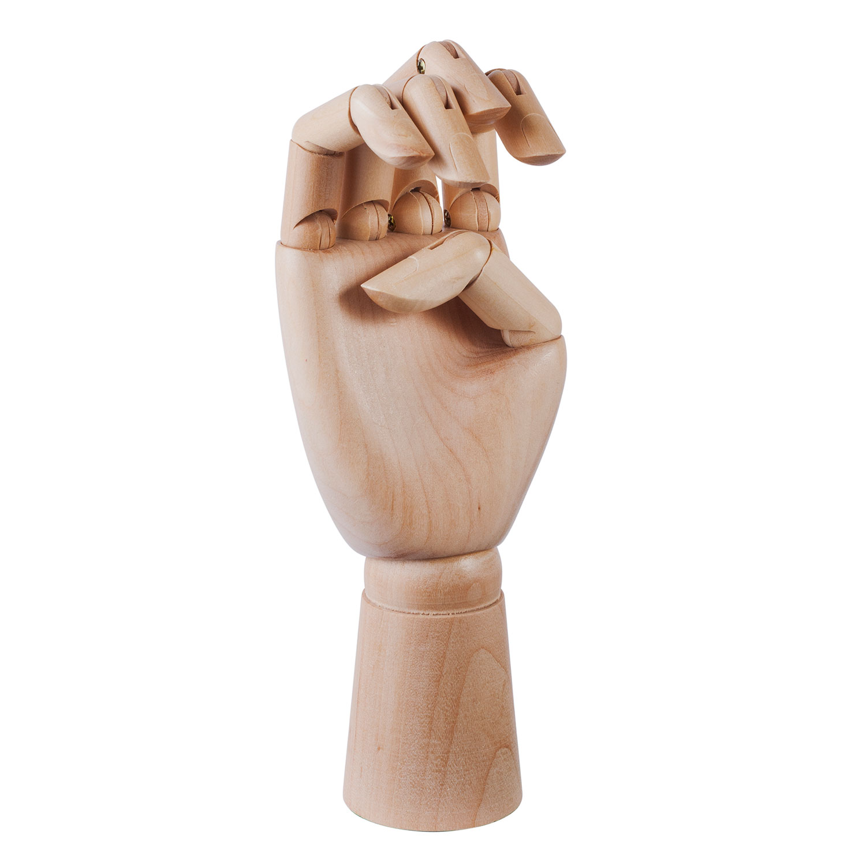 Wooden Hand, Medium