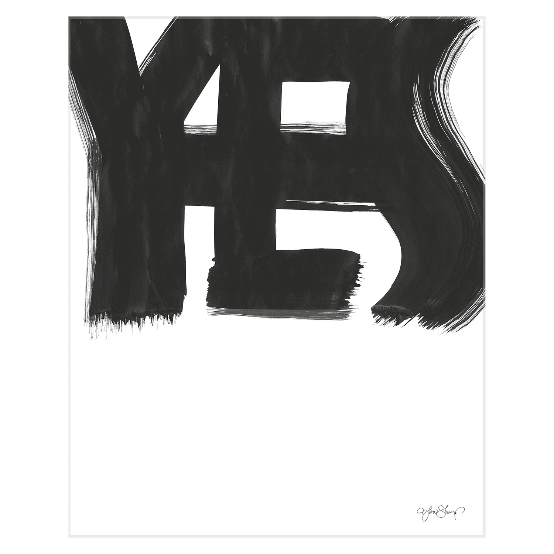 Bilde av Ylva Skarp-Yes Poster 40x50 cm