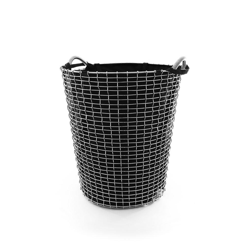 Korbo-Pyykkipussi 80L, Musta