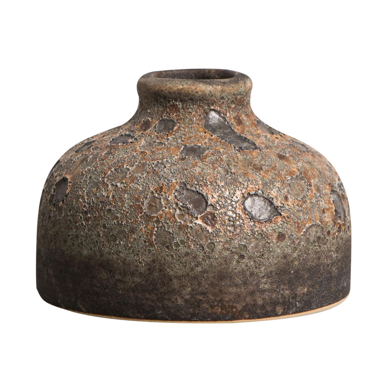 Bilde av By On-Rustic Vase 10x7cm, Brun