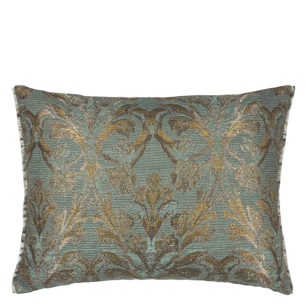 Designers Guild-Vittoria Cushion 45x60 cm, Aqua