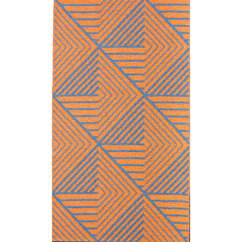 Stubbe Matta 70X350, Orange/Denim