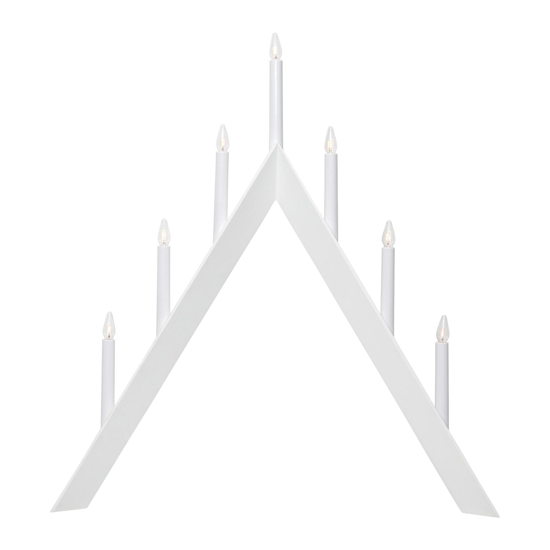 Arrow Ljusstake, Vit