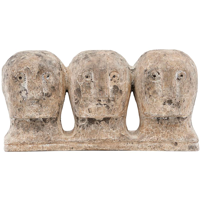 Ancient Head Skulptur