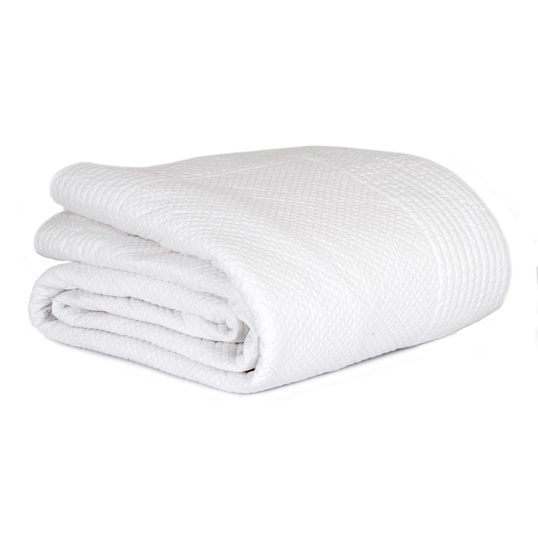 Mille Notti-Alessia Bedspread, White