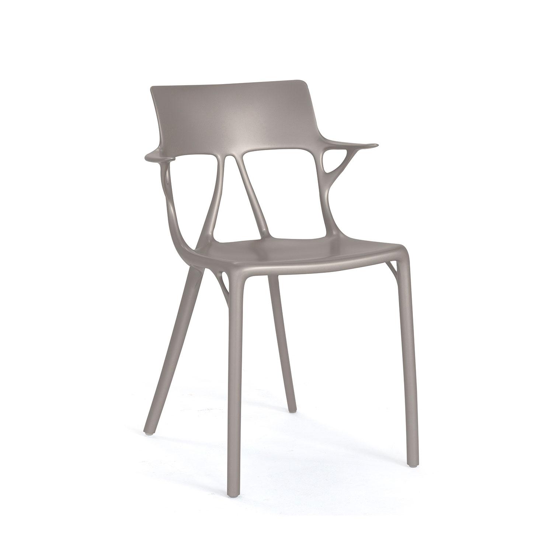 Bild av A.I. Stol, Metallic Grey