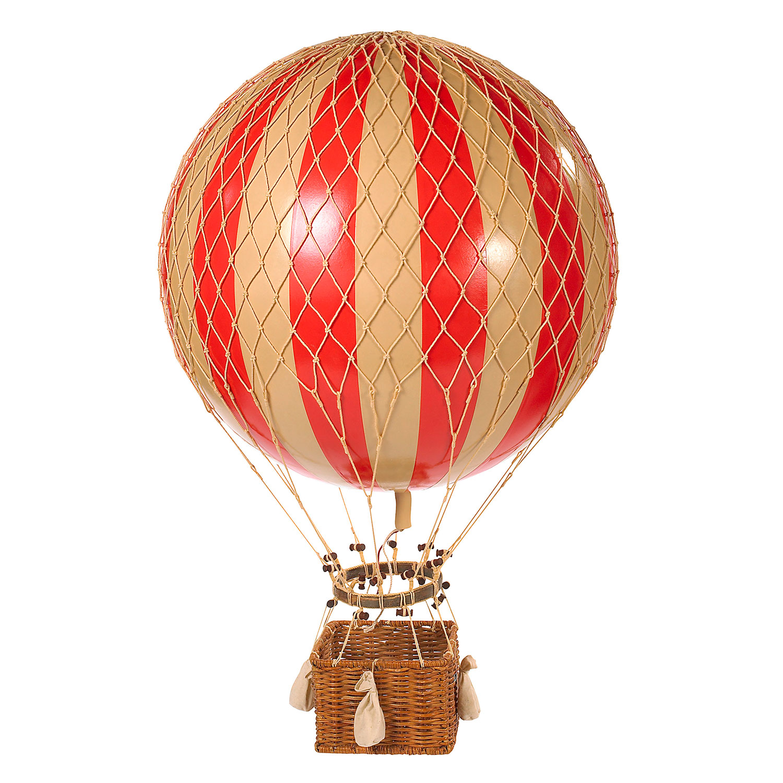 Jules Verne Luftballong, Röd