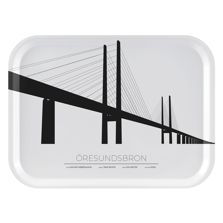Öresundsbron Malmö/Köpenhamn Bricka 27x20cm