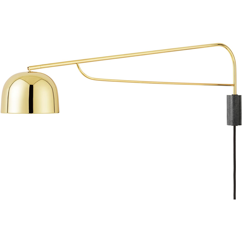 Grant Vägglampa EU 43 cm, Mässing Normann Copenhagen