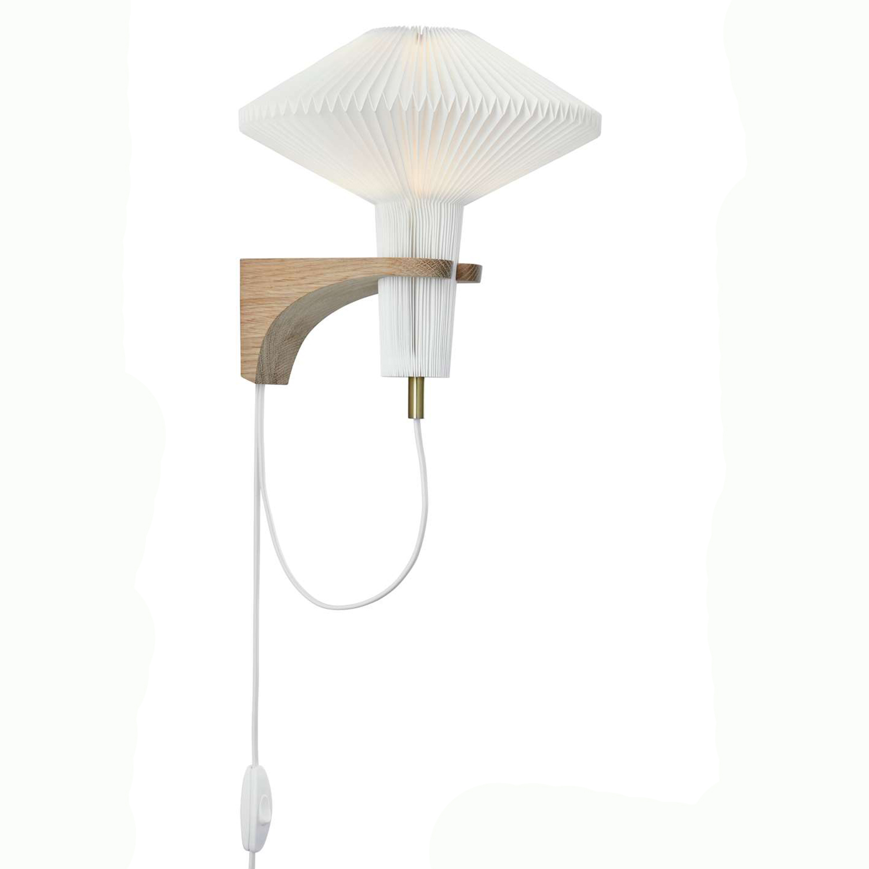 Le Klint-Wall light 204, Light Oak
