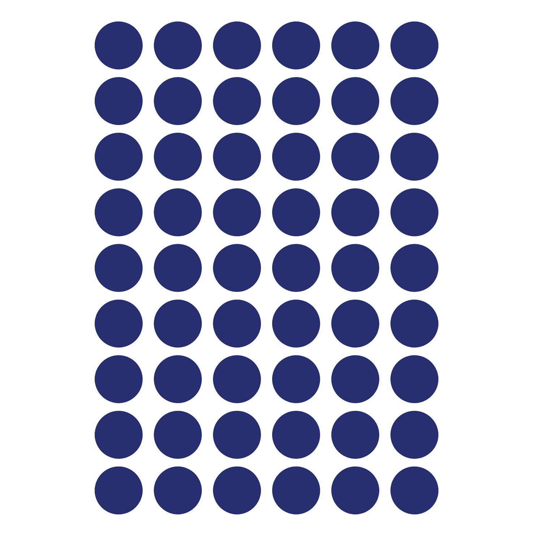 Mini Dots Väggdekor, Blå