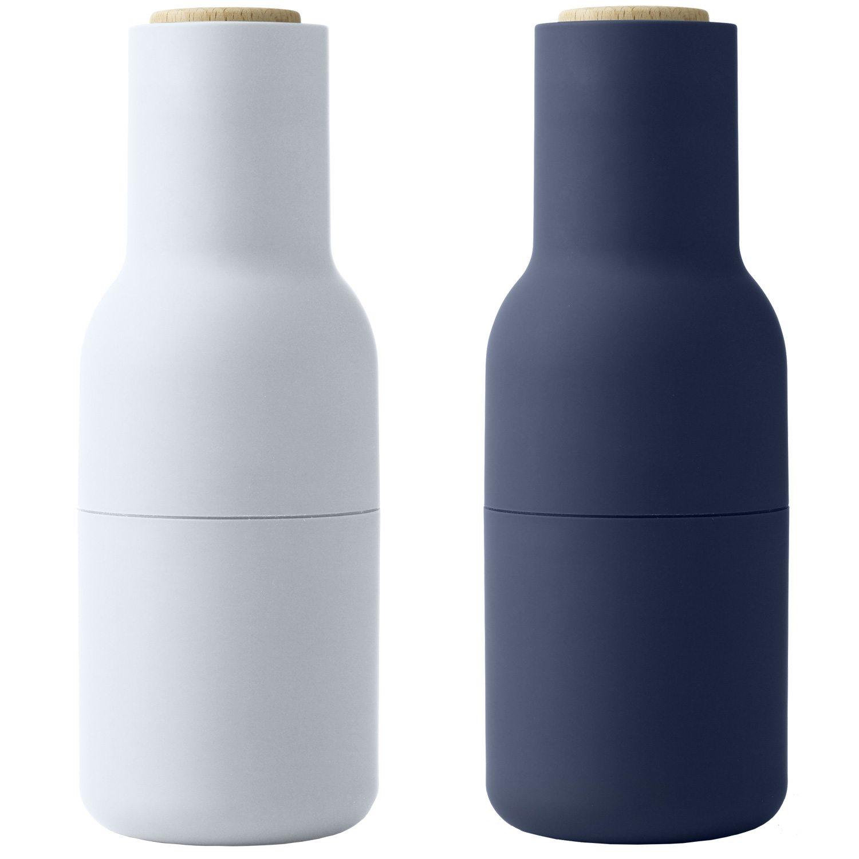 Sidste nye Bottle Grinder 2-Pack, Ash/Carbon/Steel - Menu @ RoyalDesign.dk OZ-98