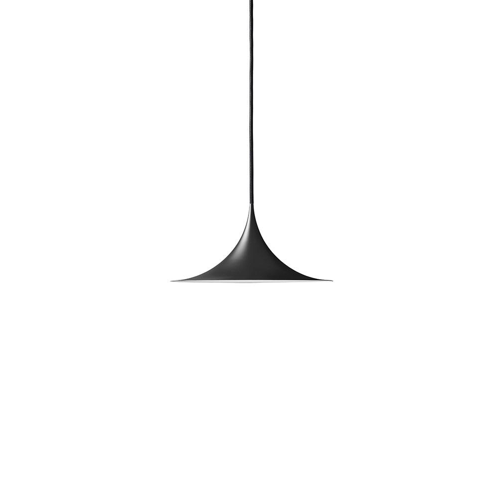 Bilde av Gubi-Semi Taklampe Ø30 cm, Sort