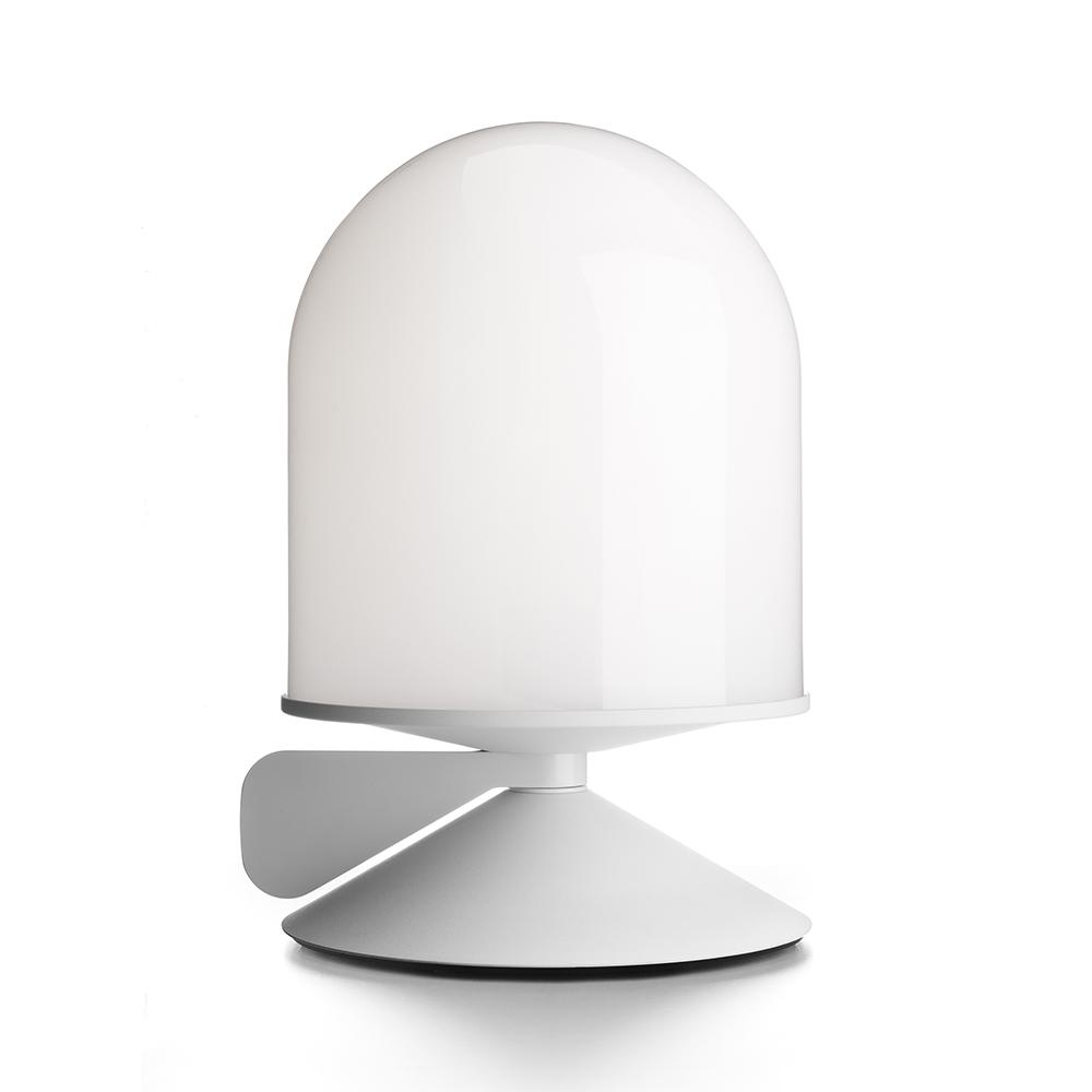 Bilde av Örsjö Belysning-Vinge Bordlampe med Dimmer, Hvit/Opalglass