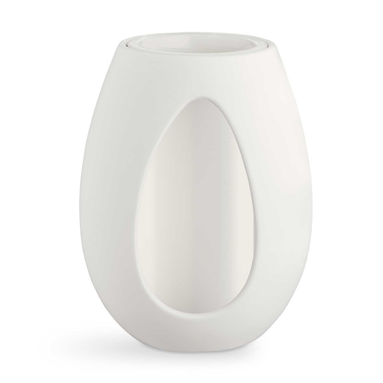 Kähler-Kokong Vase 22 cm, White