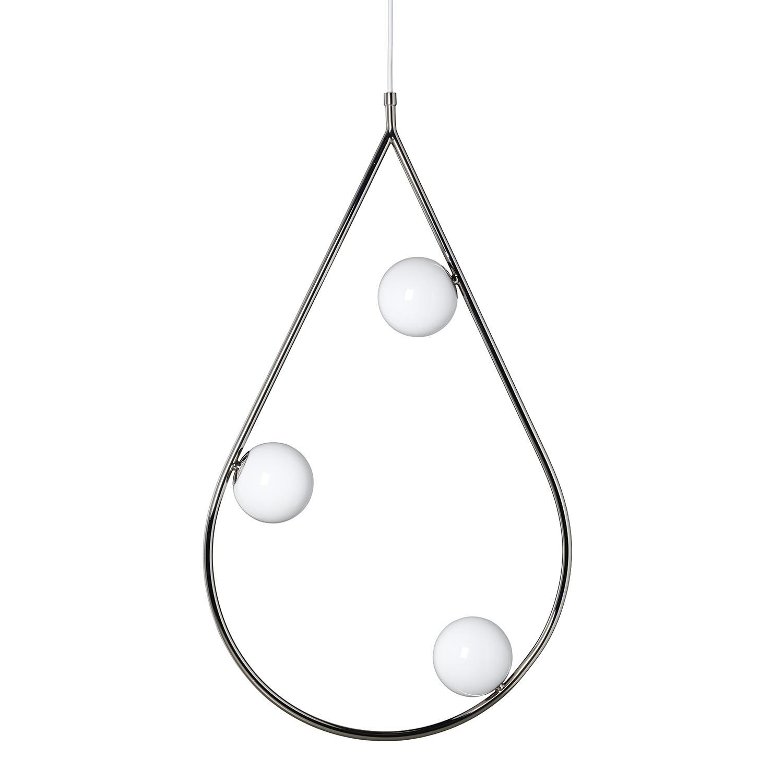 Pearls Taklampa 80cm, Nickel