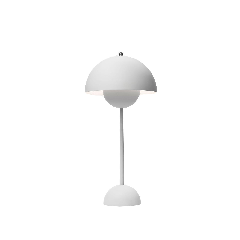 Bilde av &Tradition-Flowerpot Bordlampe Vp3, Matt Lysegrå