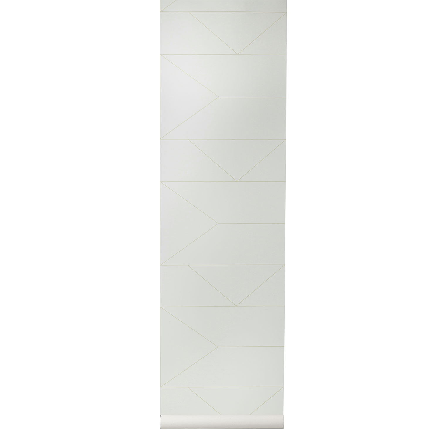 Image of Ferm Living-Lines Tapete, Off-White
