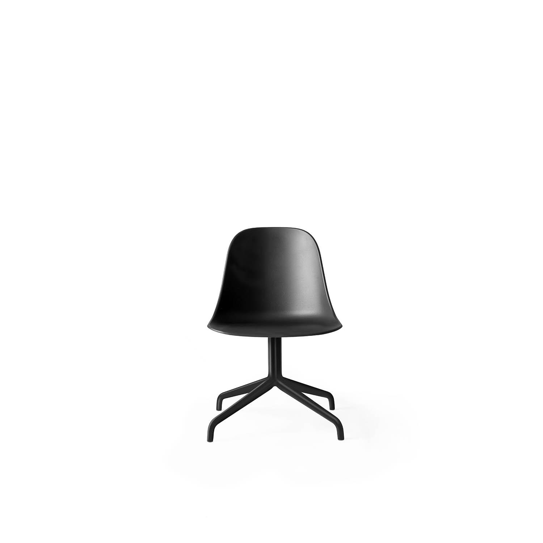 Harbour Side Chair, Black Swivel/Black Shell