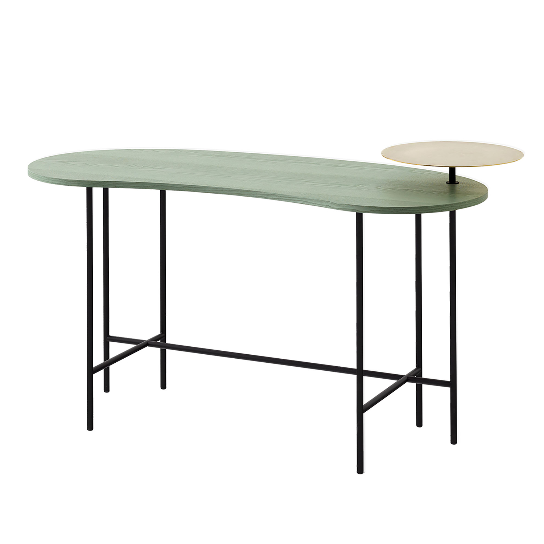 Bilde av &Tradition-Palette Desk Jh9, Grågrønn Ask/Nero Merquina