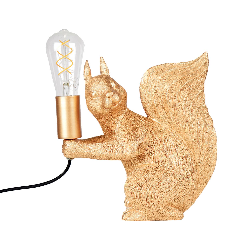 Piff Bordslampa, Borstad Mässing