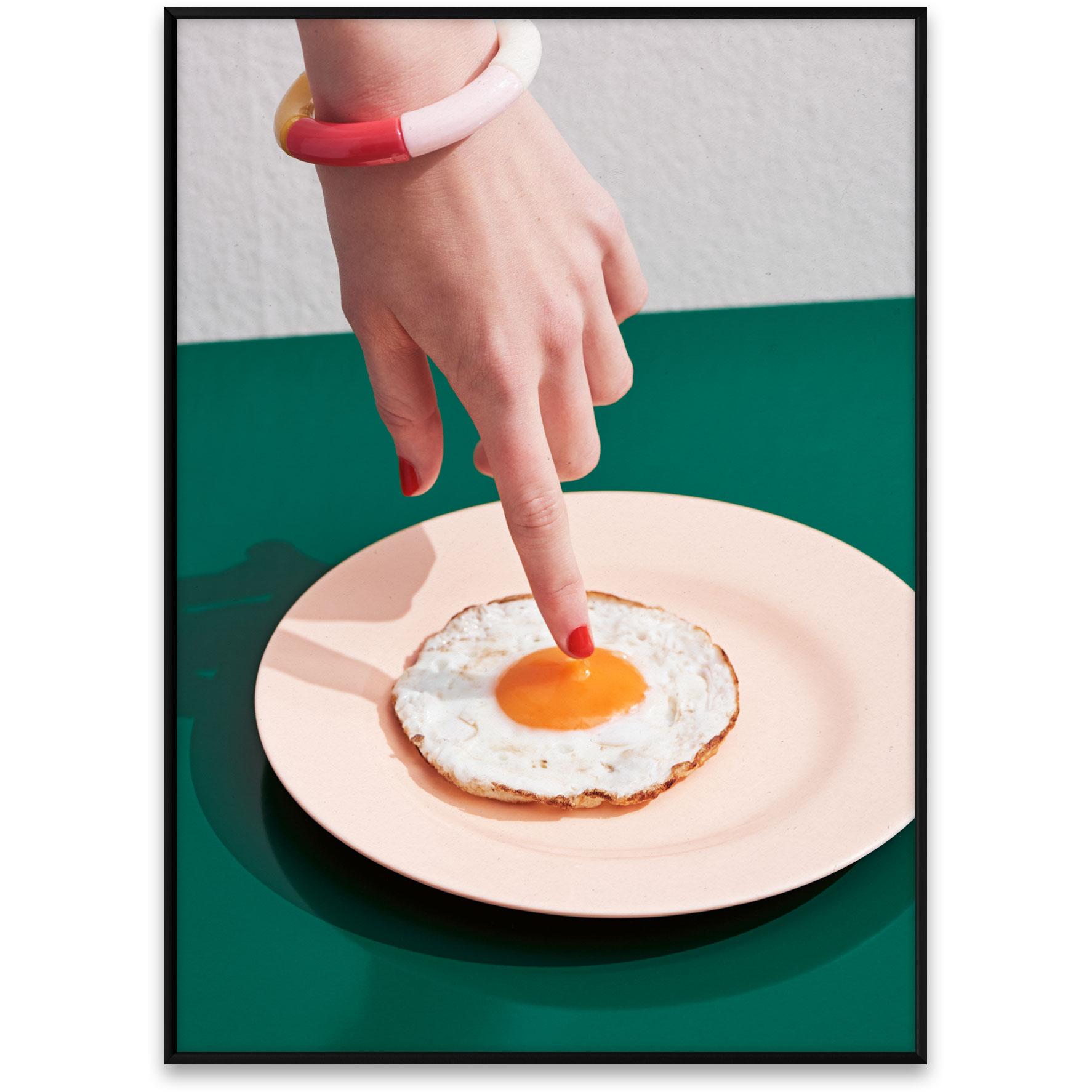 Bilde av Paper Collective-Fried Egg Poster