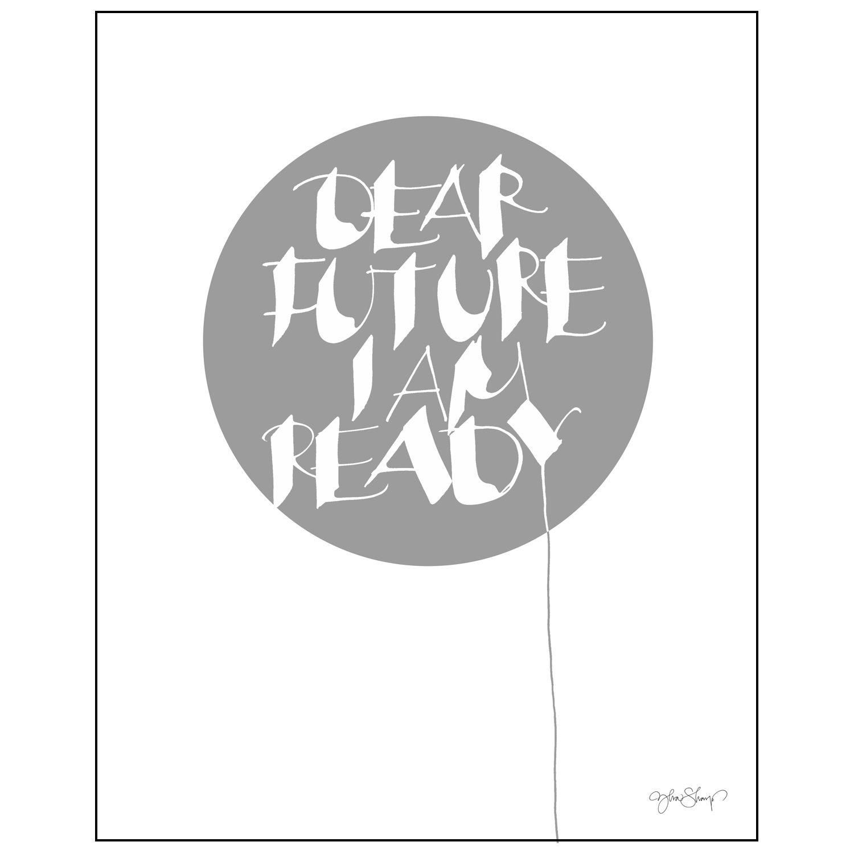 Bilde av Ylva Skarp-Dear Future Poster