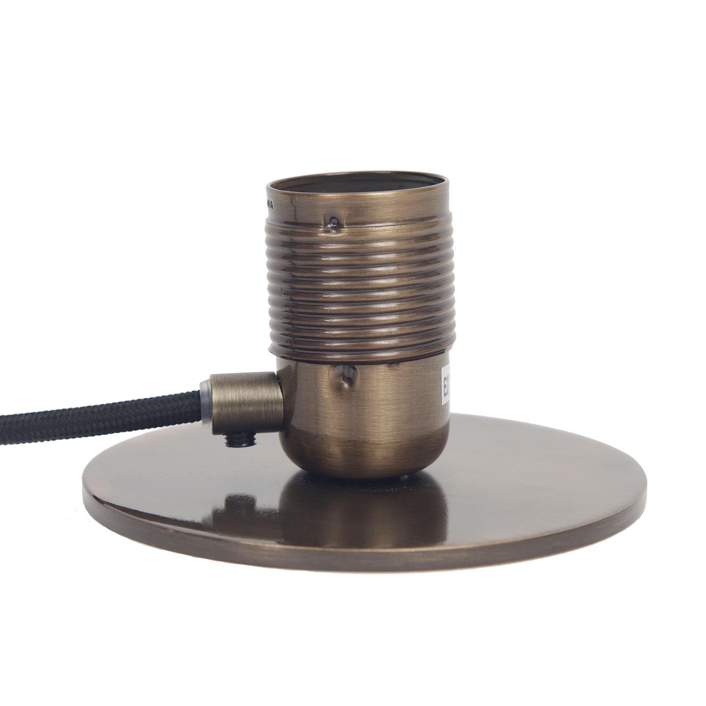 Bilde av Frama-Frama E27 Bordlampe, Messing/Sort