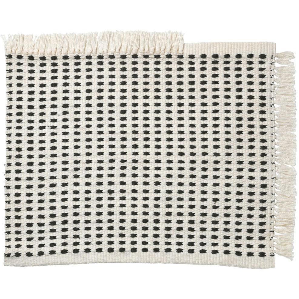 Bilde av Ferm Living-Way Doormat 50x70 cm, Off-White/Blue