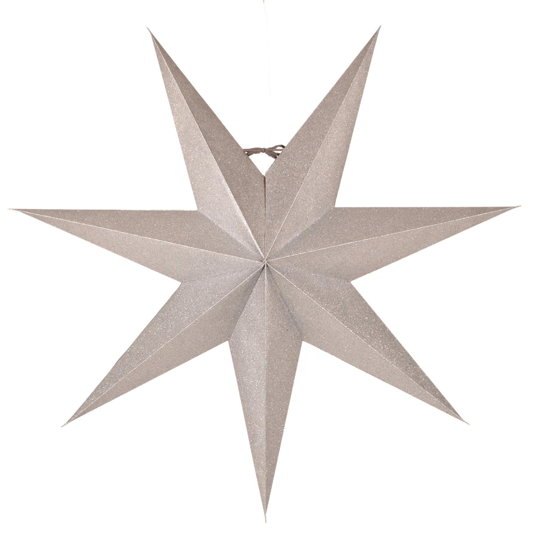 Tilly Juldekorationsstjärna 60 cm, Silver