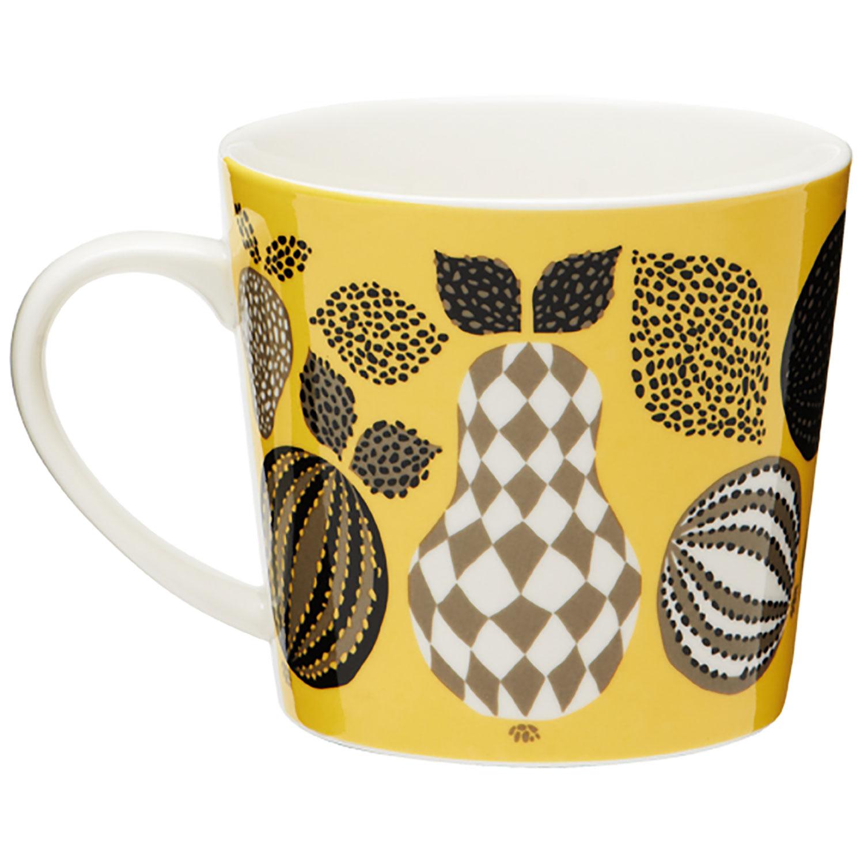 Fruit Mug 40 cl, Yellow, Littlephant