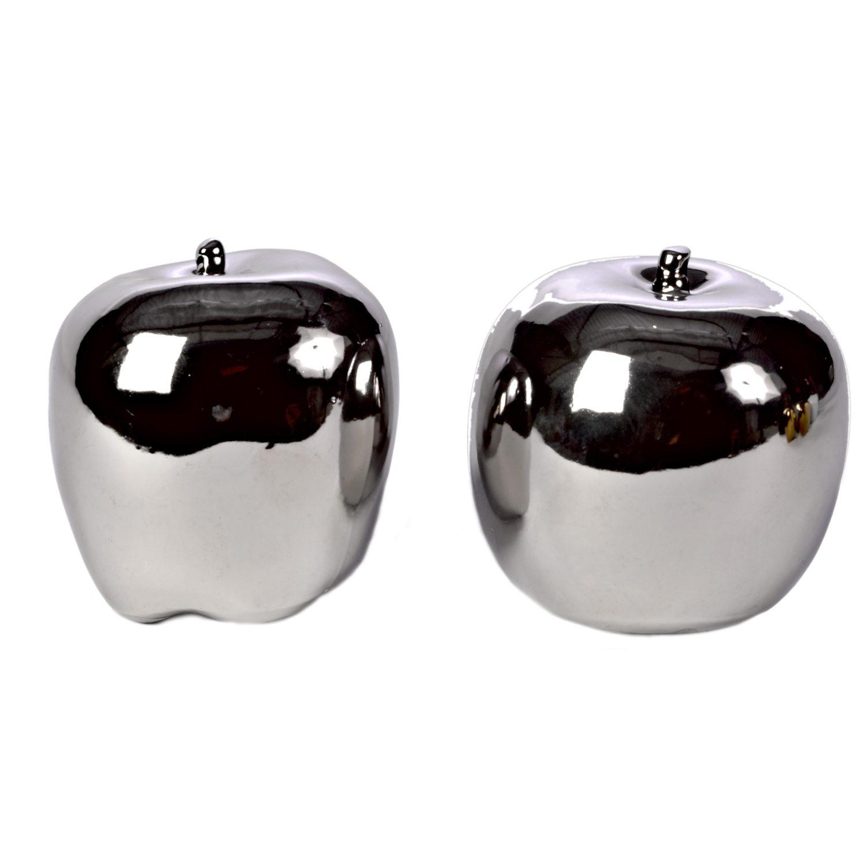 Bilde av Pols Potten-Apple Dekorasjon 2-pakning, Sølv
