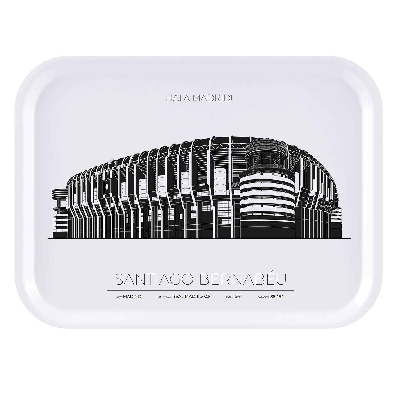 Bernabeu Stadion Madrid Bricka 27x20cm