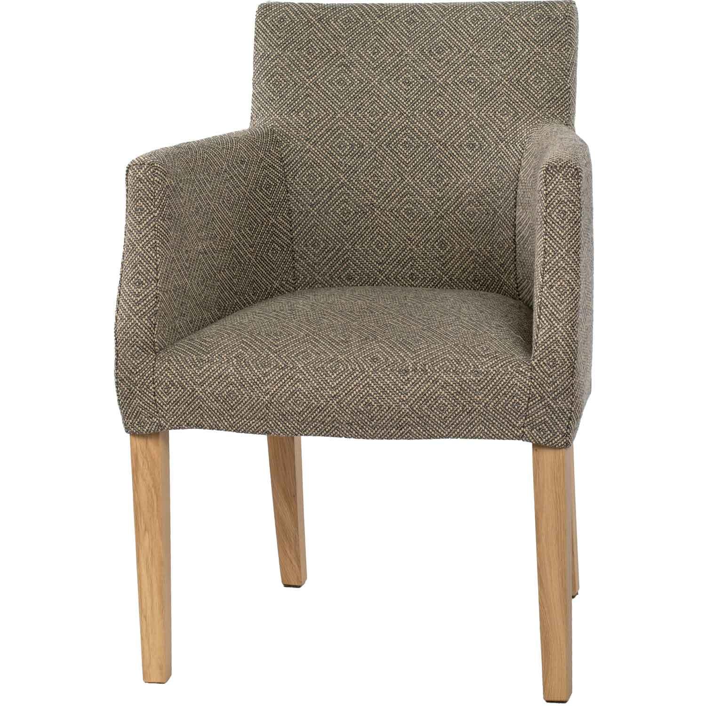 Brooklyn Chair Loose Cover, Nat.Ek Westray Noir 24