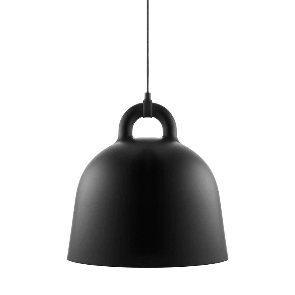 Bell Lampe M, Sort