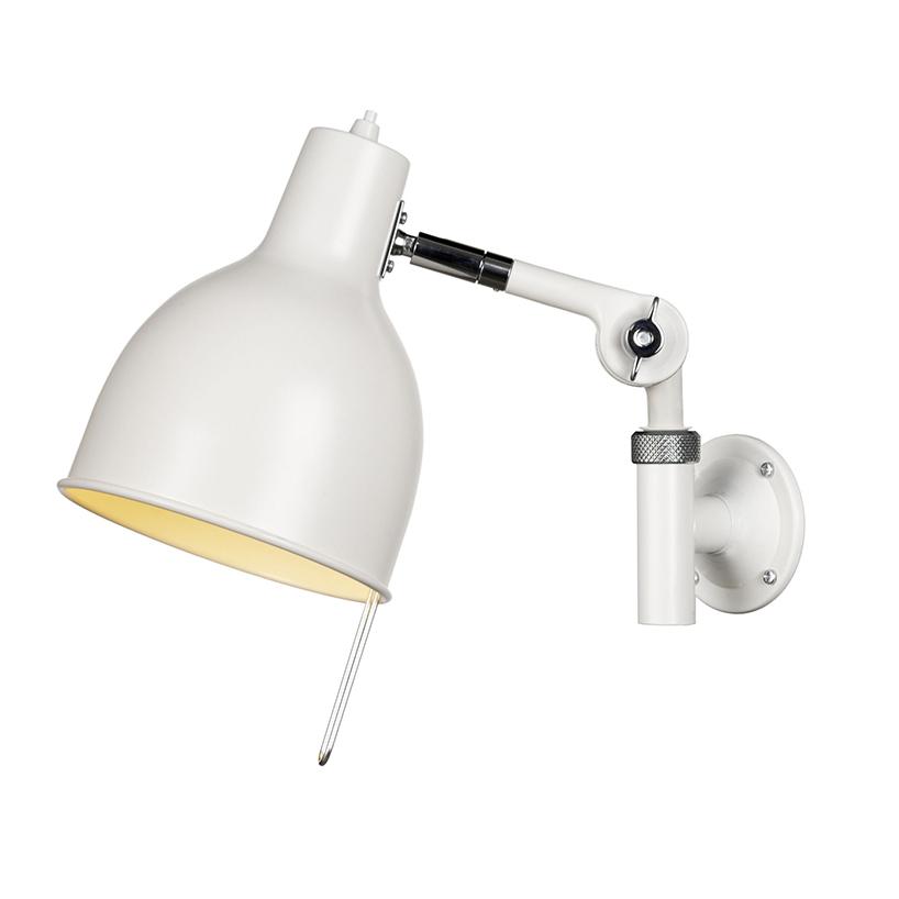 Bilde av Örsjö Belysning-PJ71 Vegglampe (kabel), Hvit