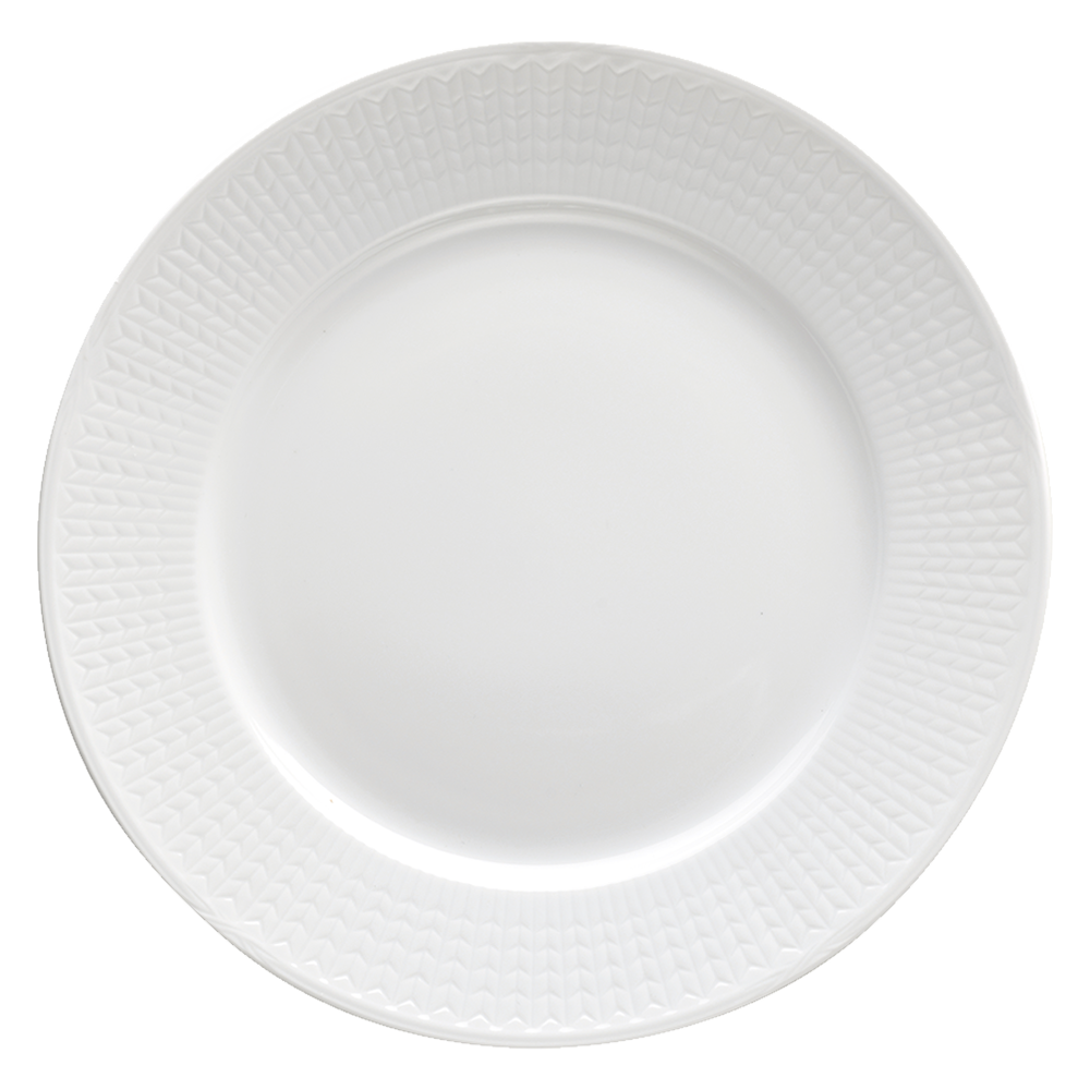 swedish grace plate snow rörstrand royaldesign
