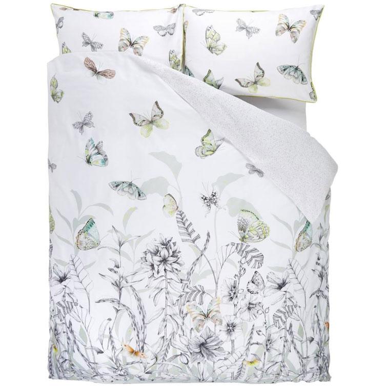 Bilde av Designers Guild-Papillons Bed Set, Birch