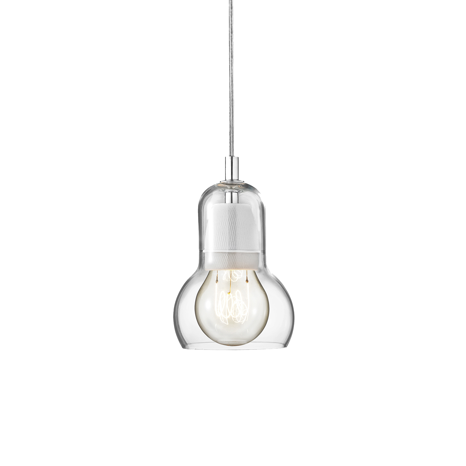 Bilde av &Tradition-Bulb Pendel Sr1, Transparent Ledning
