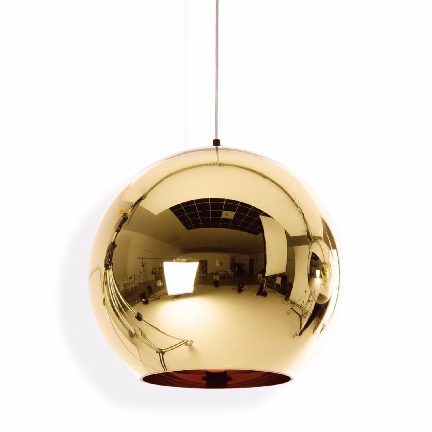 Bilde av Tom Dixon-Copper Shade Deckenleuchte 45cm